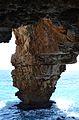 Cova dels Arcs, pilar.JPG