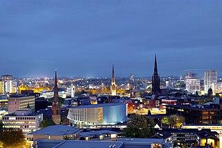Coventry City and Metropolitan borough in England