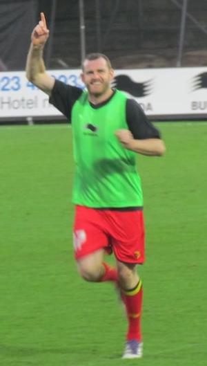 Craig Beattie - Beattie training with Watford in 2012