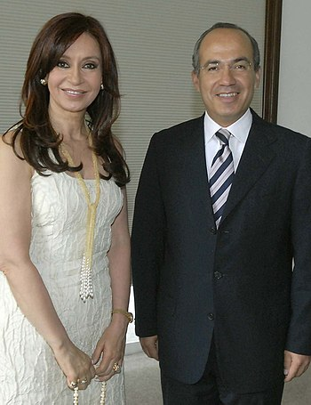 Cristina fernandez de kirchner and felipe calderon 8C95602E8A753CE
