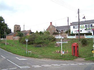 Croft, Leicestershire - Croft centre