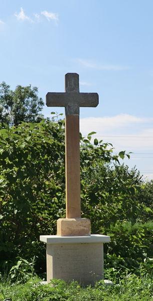 Croix de chemin à Massieux (Ain)