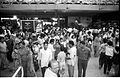 Crowd - Dinosaurs Alive Exhibition - Science City - Calcutta 1995-June-July 588.JPG