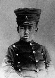 1892年(明治25年)、13歳当時の皇太子・嘉仁親王