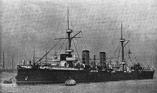 Argentine Navy protected cruiser, 1891 to 1921.