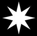 Csillag (nyolcágú) fr -- étoile (8).PNG