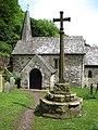 Culbone church and cross - geograph.org.uk - 1400582.jpg