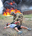 Currahees conduct mass casualty exercise 130806-A-QG286-001.jpg