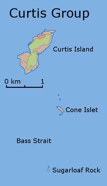 Curtis Island--Curtis Island Map