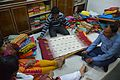 Customers Selecting Tussore Sarees - 2 Natun Phulia - Nadia 2016-11-12 1887.JPG