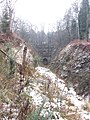 Cutting to the north portal of Mierystock Tunnel - Feb 2012 - panoramio.jpg