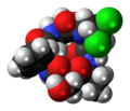 Cyclochlorotine 3D spacefill.png
