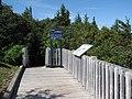 Départ d'un sentier pédestre, au sommet du Mont Saint-Joseph à Carleton-sur-Mer - panoramio.jpg