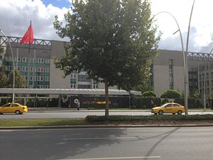 Ministry of Foreign Affairs (Turkey) - The Ministry of Foreign Affairs building in Ankara.