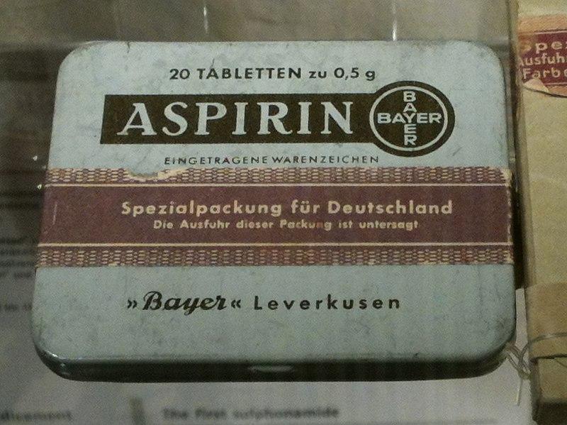 File:D-BW-Heidelberg - Deutsches Apothekenmuseum - Aspirin 1.JPG