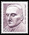 DBP - Nobelpreisträger, Carl von Ossietzky - 50 Pfennig - 1975.jpg