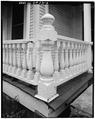 DETAIL, TYPICAL PORCH RAILING - Lowe-Turner House, 88 Keys Ferry Street, McDonough, Henry County, GA HABS GA,79-MCDO,1-6.tif