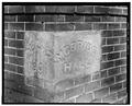 DETAIL OF CORNERSTONE - Chemawa Indian School, McBride Hall, 5495 Chugach Street Northeast, Salem, Marion, OR HABS ORE,24-SAL,1C-4.tif