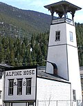 The historic Alpine Hose Firehouse No. 2 in Georgetown.