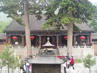 Mount Wutai - Image: Dailuoding Temple 5