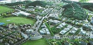 Dalian Software Park - Dalian Software Park model