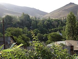 Damavand, Iran - Image: Damavand shahr