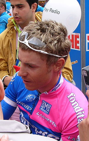 Damiano Cunego - Cunego at the 2006 Giro d'Italia