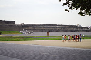 Daming Palace - Site of the Hanyuan Hall's foundations