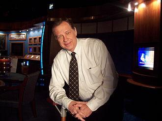 Dan Miller (journalist) - Miller at WSMV studios