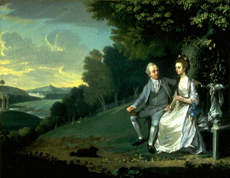 1776 in art - Image: Dashwoods of West Wycombe