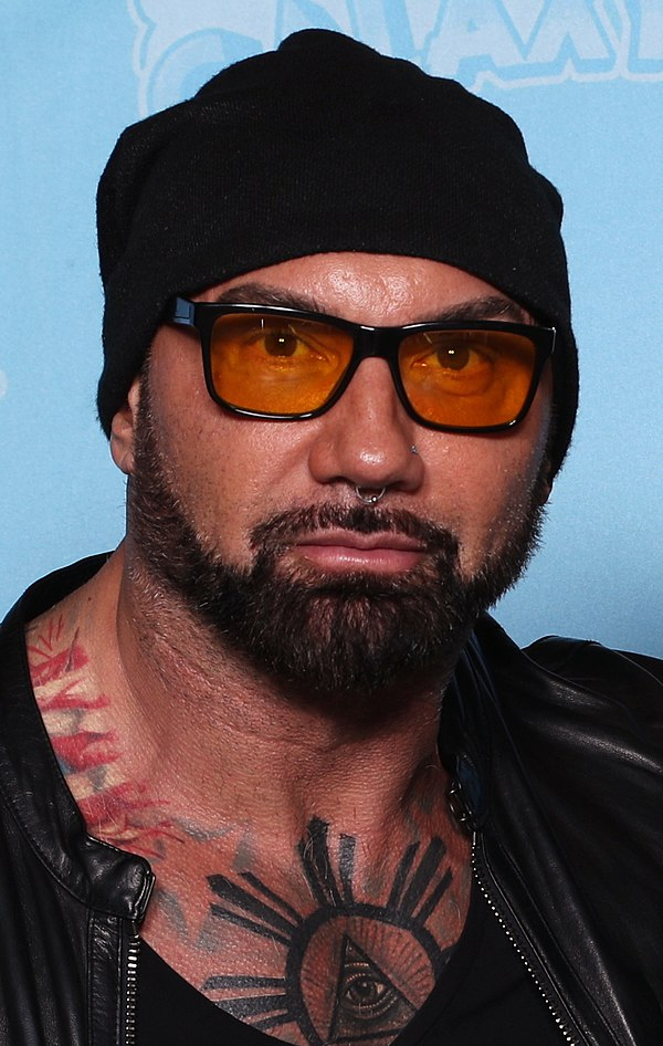 Photo Dave Bautista via Wikidata