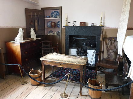 David Livingstone's birthplace, with period furnishings David Livingstones birthplace (geograph 4530192).jpg