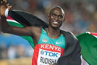Sport in Kenya - Image: David Rudisha Daegu 2011