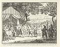 De veldmaarschalken de Chatellon en de Breze begroeten prins Frederik Hendrik, 1632 Les Maréchaux de Chatillon et de Brezé saluent le Prince comme Generalissime des Troupes de France (titel op object), RP-P-1921-271.jpg