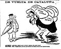 De vuelta de Cataluña, de Tovar, El Liberal, 11 de noviembre de 1908.jpg