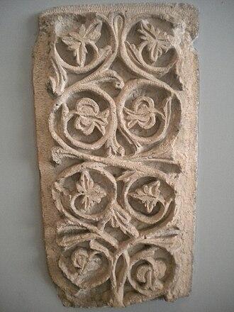 Khirbat al-Minya - Decorations from the Minya palace