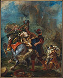 Delacroix, Eugène - The Abduction of Rebecca - 1846.jpg