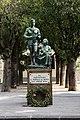 Delio granchi, Monumento al partigiano di sesto fiorentino, 1949, 05.jpg
