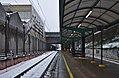 Delta train station on a snowy day (Auderghem, Belgium).jpg