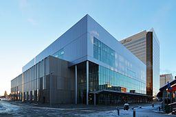 Dena'ina Civic and Convention Center. Anchorage, Alaska