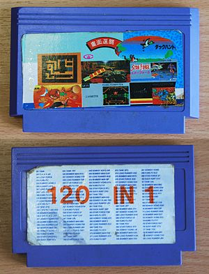 "Multicart - ""120 in 1"" cartridge"
