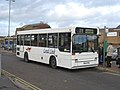 Dennis Dart bus with Plaxton Pointer body at Bicester, Oxfordshire.jpg