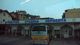 Derventa - Image: Derventa Bus Station