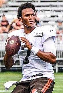 DeShone Kizer American football quarterback