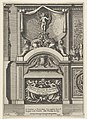 Design for a Fireplace Surmounted by Sphyxes and Cupid, Title Page from- Nouveaux dessins de cheminées à l'italienne MET DP834294.jpg