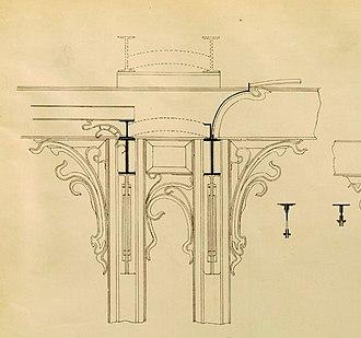 Hôtel Solvay - Image: Design for the Hôtel Solvay