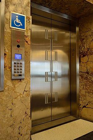 Destination dispatch - A destination dispatch elevator.