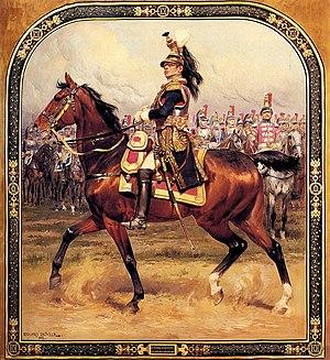 Jean-Joseph Ange d'Hautpoul - Le Général d'Hautpoul à cheval by Édouard Detaille, 1912