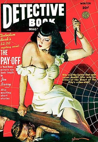 Pulp magazine - Image: Detective Book Magazine 002