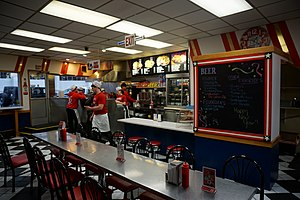 Coney Island (restaurant) - The interior of American Coney Island in Detroit